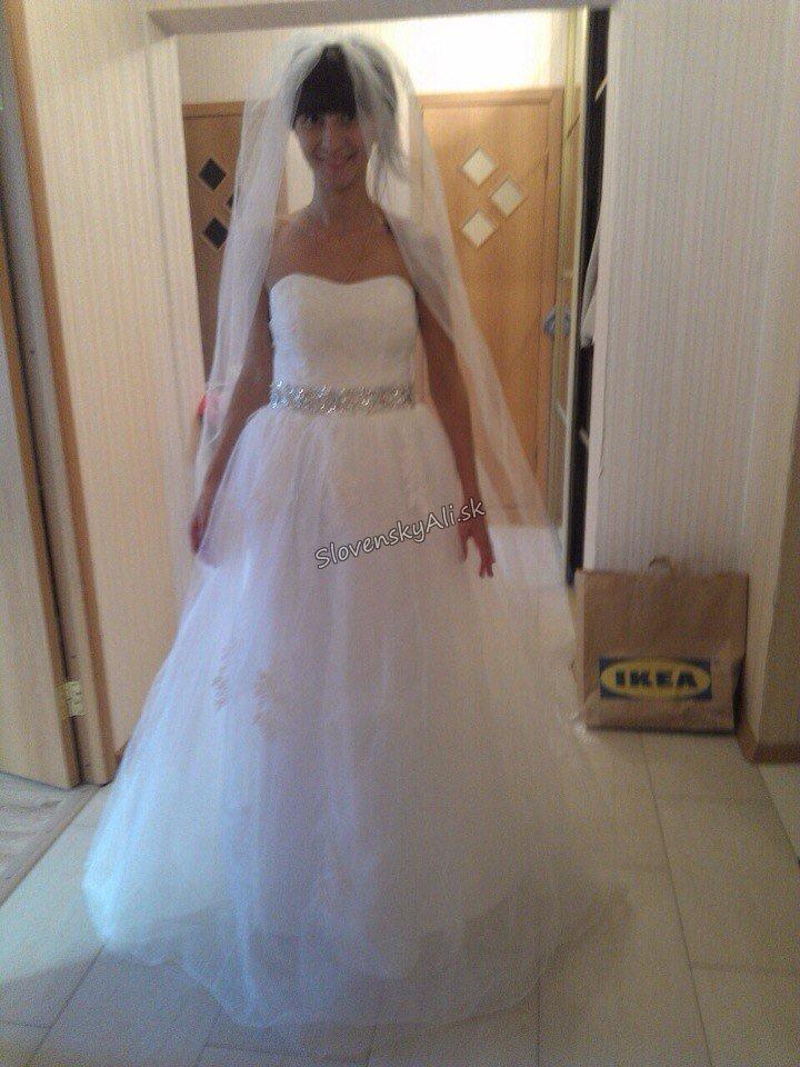 34862d5bd24 Svadobné šaty