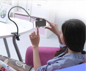 Držiak na telefón pre lenivých  Môžete kúpiť tu ––> http://goo.gl/86o7CJ  Držiak na telefón s multifunkčným využitím. S týmto univerzálnym držiakom už nemusíte držať smartfón vo vaších rukách pokiaľ sa chcete pozerať na svoj obľúbený film alebo seriál. Ideálny na počuvanie hudby v posteli. Je veľmi pohodlný pre kazdodenné používanie, Určite odporúča váš lenivý.  #Som_Aliexpert #Pozri_čo_som_našiel na #Aliexpress