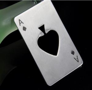 OTVÁRAČ NA FĽAŠE --> http://pozri.link/kartovyOTVARACŠtýlový otvárač na fľaše z nehrdzavejúcej ocele v tvare kartového esa. Túto kartu si môžte dať jednoducho do peňaženky ako kreditnú kartu a otvárač mať takto stále poruke.Ako sa vám páči táto vychytávka z AliExpress?Pozri čo som našiel na Aliexpress#thanksaliexpress #Pozri_čo_som_našiel_na_Aliexpress#OTVÁRAČ_NA_FĽAŠE #bottle_opener #stainless_steel_opener #mini_wallet_opener #playing_card_opener